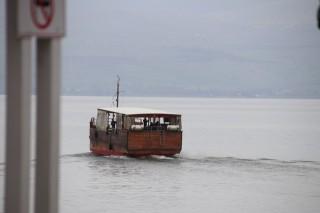 The Pilgrims boat